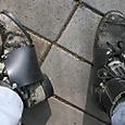作業靴/安全靴にプロテクター(ゴム製)