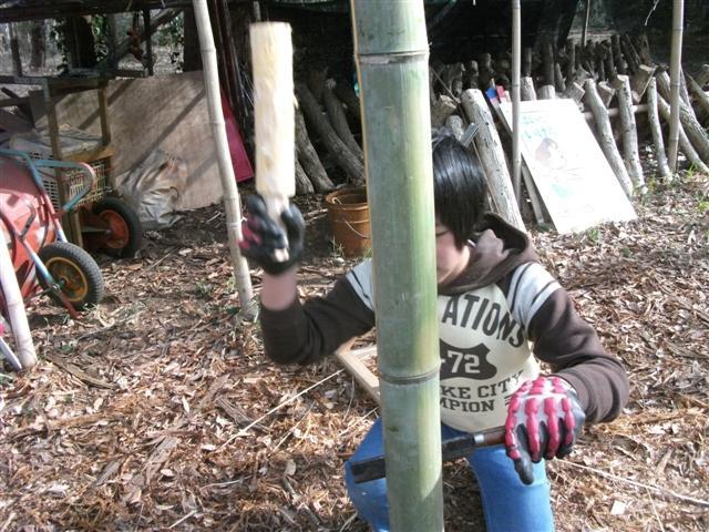 竹割り棍棒