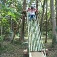 竹滑り台初公開