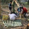 竹切り体験