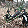 竹のブランコリニューアル