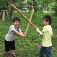 木刀vs槍