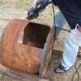 焼き芋窯-2