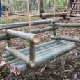 竹のゆらゆら椅子-4