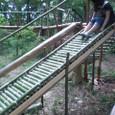 ローラー滑り台(似せ物)