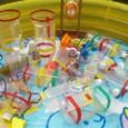 水遊び玩具ペットボトル