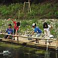 子供水場/魚取り桟橋