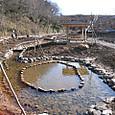 水路と池が完成