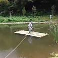 竹の筏テスト