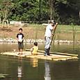 筏に最初の乗客