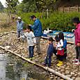 GW魚取り体験会開催