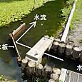 導水板設置