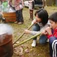 イベント/焼き芋火吹き竹