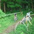 冒険林/自転車置き場
